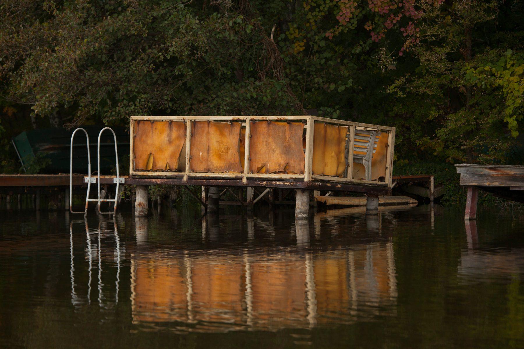 """lena loose"", 2016; Steg see lake Berlin Lundwigsfelde lena maria loose fotografie photography stege lake see brandenburg"